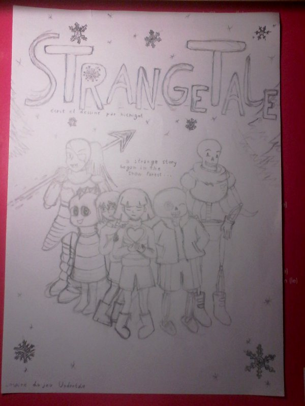 couverture Strangetale avancement
