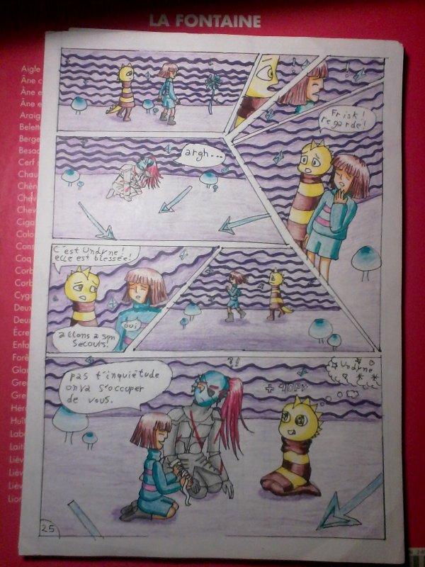 strangetale BD undertale  page 21