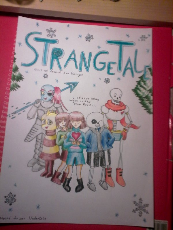 couverture StrangeTale  fini ^^