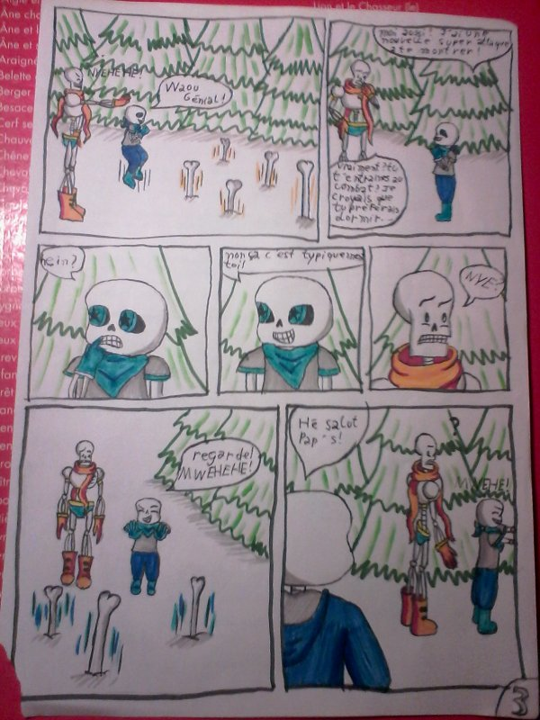 Underswaptale page 3