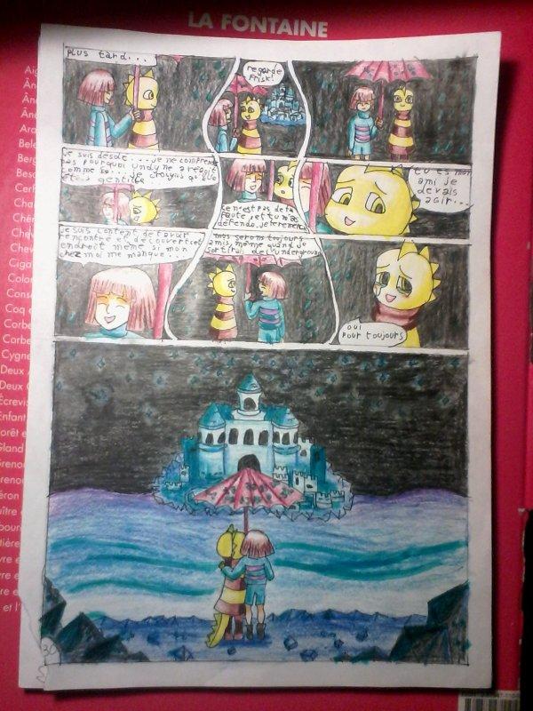 Strangetale BD undertale  page 24
