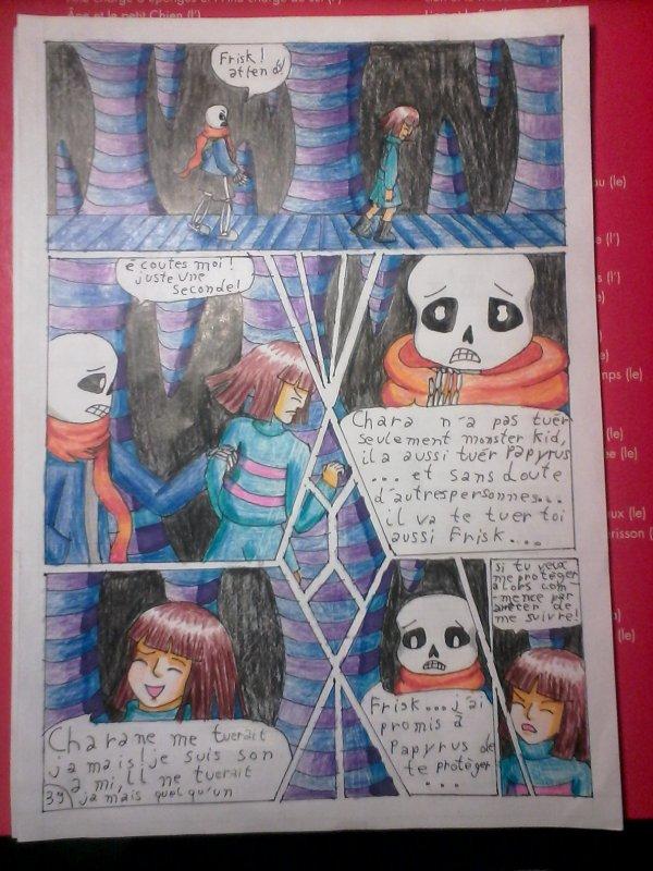 Strangetale bd undertale page 28
