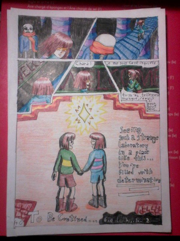 Strangetale bd undertale page 29