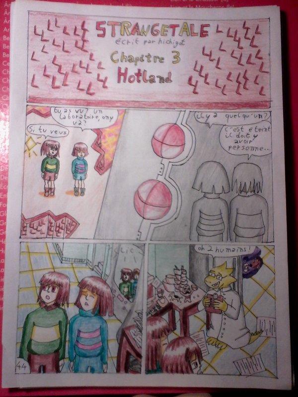 Strangetale bd undertale page 30