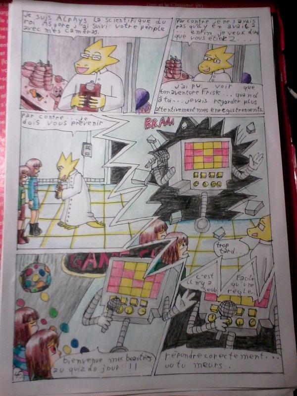 Strangetale bd undertale page 31