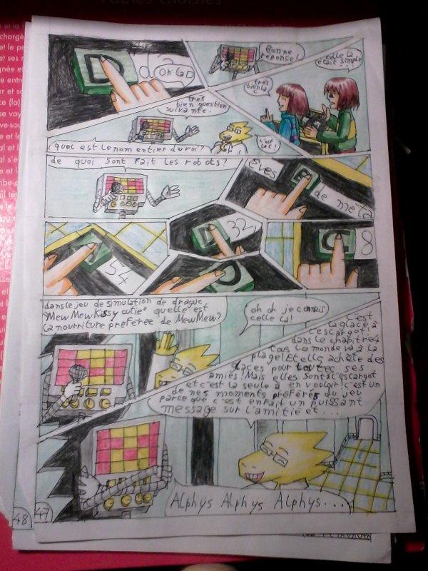 Strangetale bd undertale page 33
