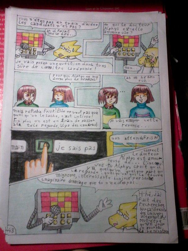 strangetale BD undertale  page34