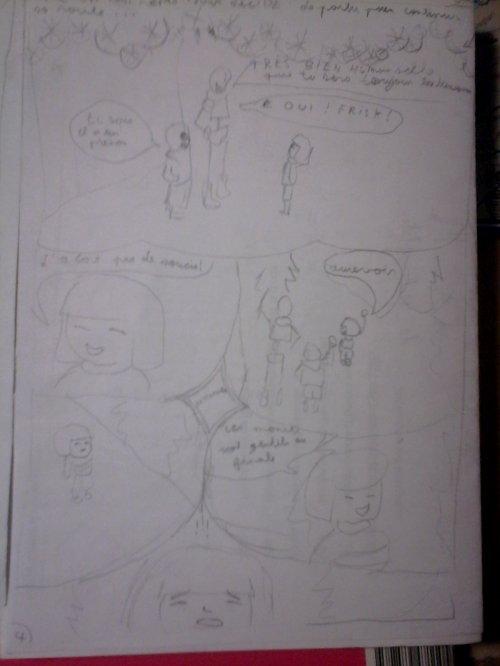 Brouillons du chapitre 1 de StrangeTale x3