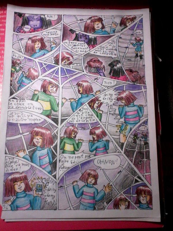 Strangetale BD undertale  page 37