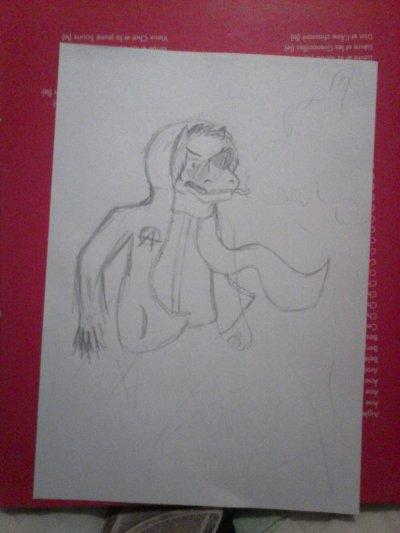 disbelief Asriel Story Shit crayon