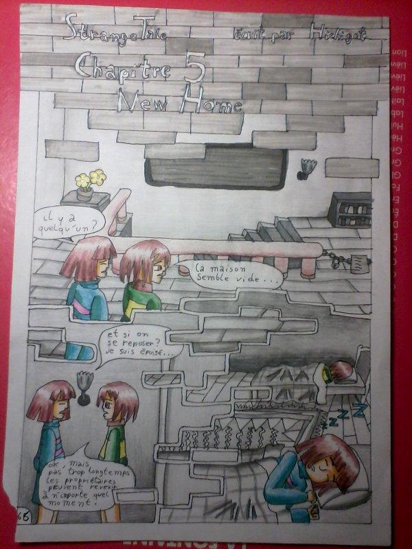 Strangetale BD undertale  page 47