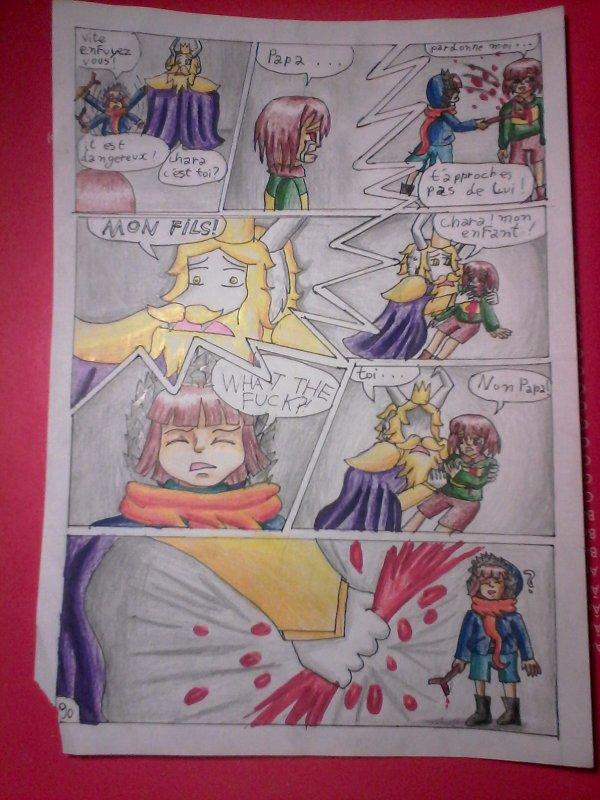 Strangetale BD undertale  page 62