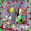 un joyeux anniversaire a mon petit fils nolan pour ses 1 ans je t aime gros bisous
