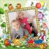mon petit fils nolan et sa cousine lyna
