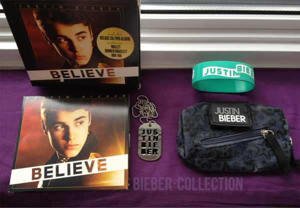 Believe (Deluxe Edition) - With Wallet + Rubber Bracelet + Dog-Tag