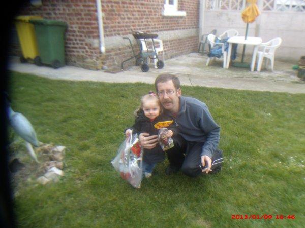 moi et ma petite niece