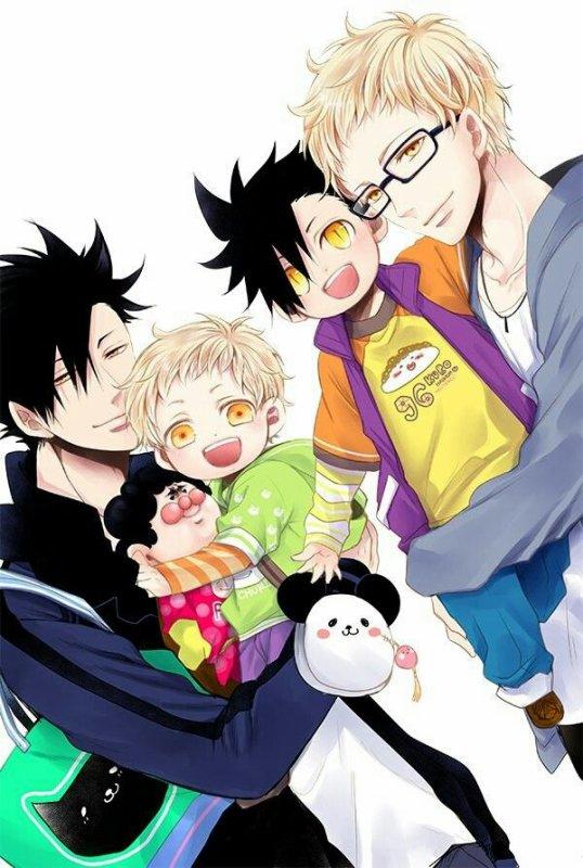 Et si nos couples boys love faisaient des bb : yaoi family !