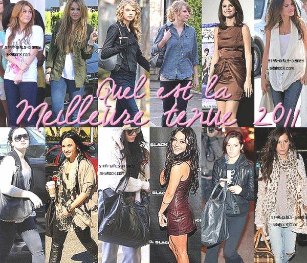 Toute une serie de tenue de nos teens depuis ce debut 2011