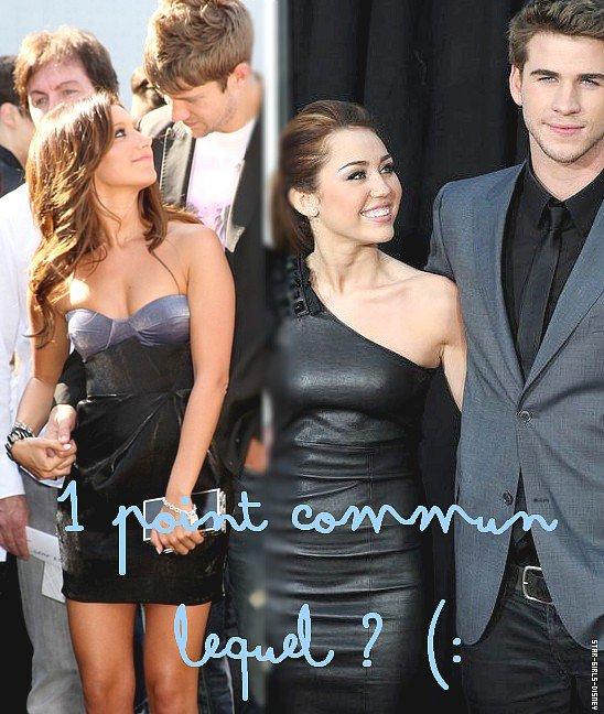Quel est le point commun entre Ashley Tisdale & Miley Cyrus (: ?!
