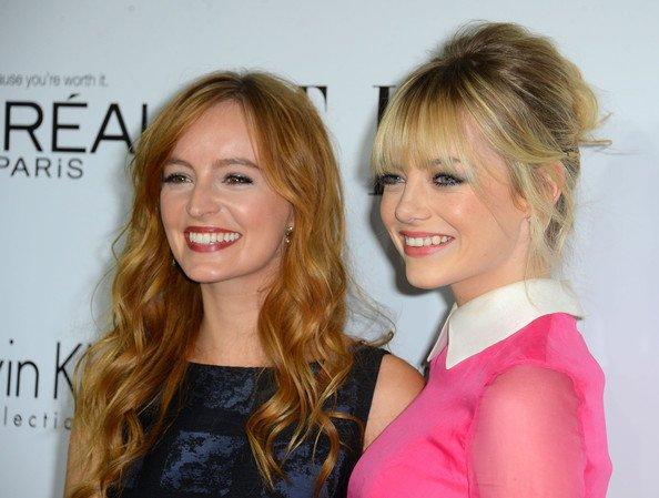 Ahna O'Reilly et Emma Stone ELLE la 19e annuelle des femmes Celebration  Hollywood à Beverly Hills le 15 Octobre, 2012
