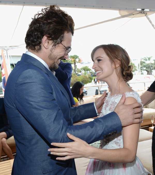 James Franco Hosts a Yacht Event in Cannes