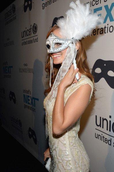 Le 1er annuel de l'UNICEF Bal masqué à Los Angeles