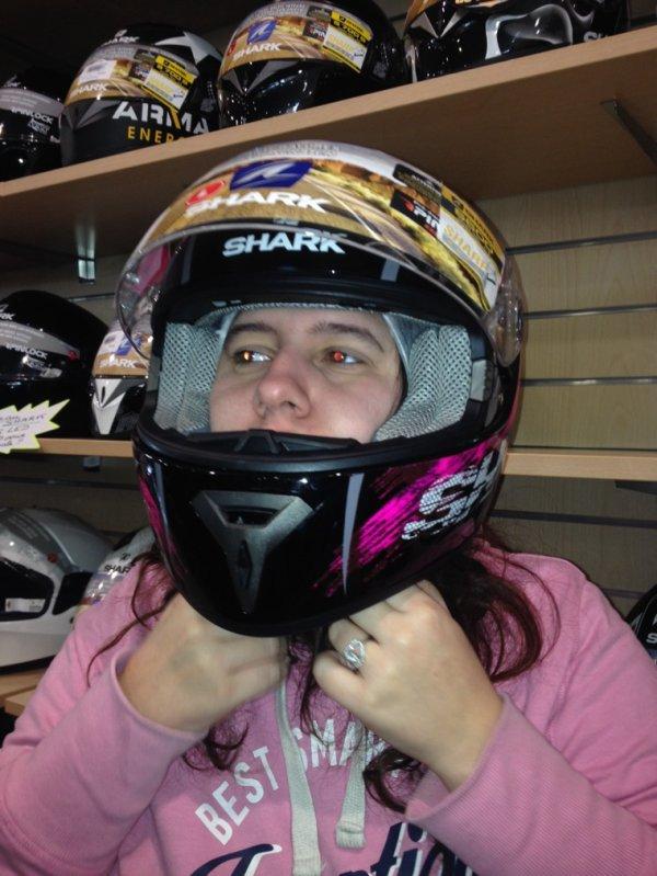 Mon rêve de faire de la moto
