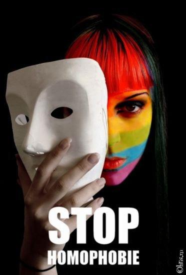 luttons contre l' homophobie
