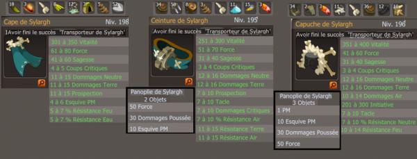 2.11 Pannoplie ( Transporteur de Slylargh )