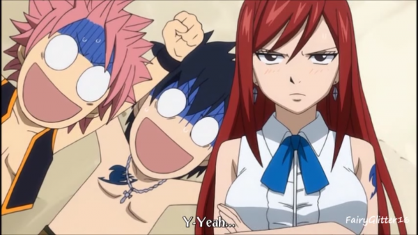 Moment drôle : Fairy Tail 1 !