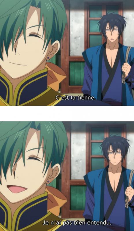 Moment drôle : Akatsuki no Yona 1 !