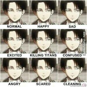 Levi's Emotions x')