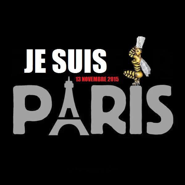 - Sans commentaire car Je suis Paris -
