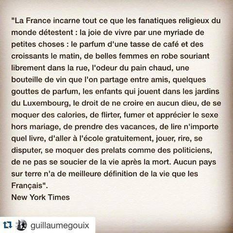 - Voilà ce qu'est la France -