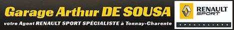 garage DE SOUSA Arthur spécialiste renault sport