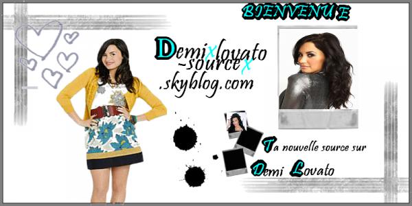 Demixlovato-sourcex ta nouvelle source sur Demi Lovato