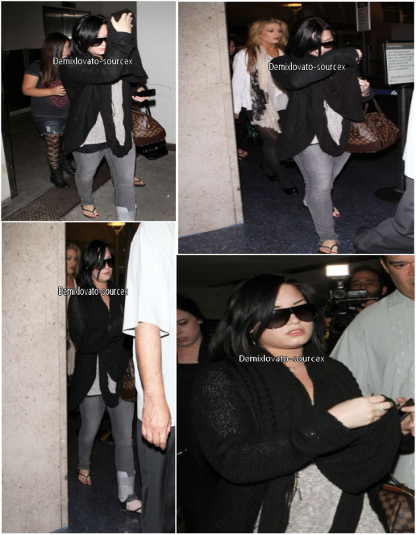 14/03/2011 : Demi de retour de Dallas a LAX (LA)