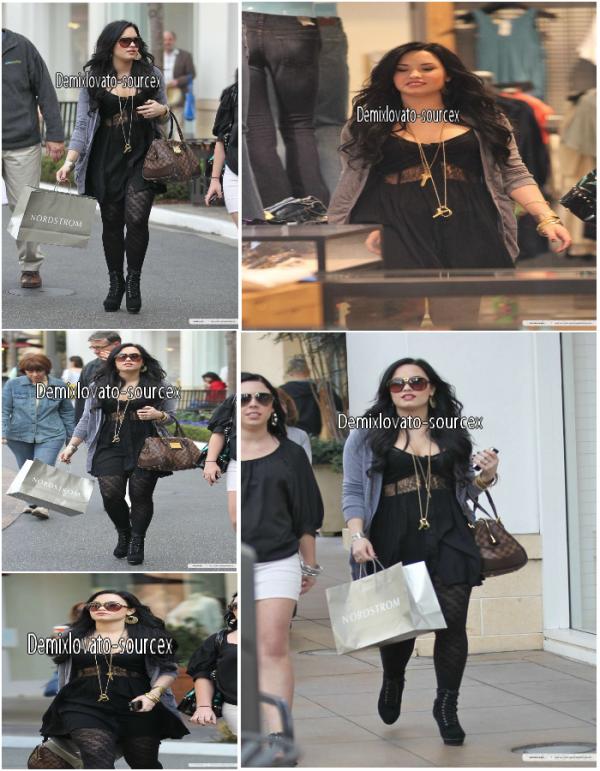 16/03/2011 : Demi est allez faire du shopping avec Marissa sa meilleure amie. (LA)