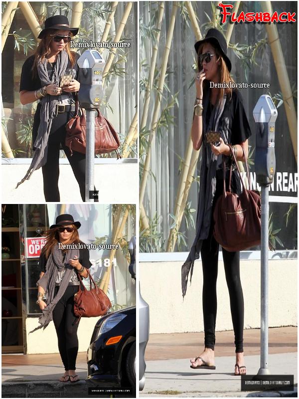 Flashback :    22/09/2010 : Demi après une scéance d'UV et après avoir fait du shopping.