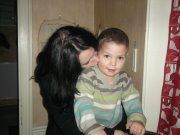 <3 ma cousine et mon neveu <3