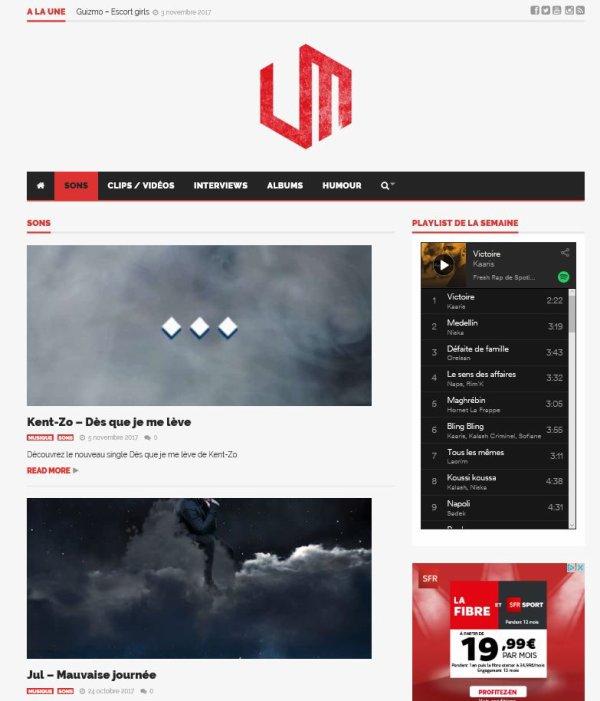 Kent-Zo sur UltimateMag