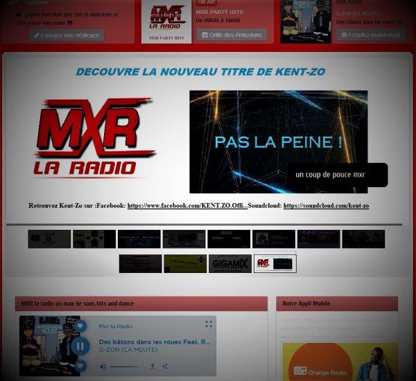 Kent-Zo sur la radio MXR