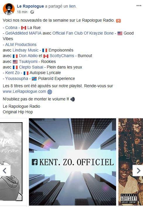 """""""Autopsie Lyricale"""" sur la radio """"Le Rapologue"""" de Montréal."""
