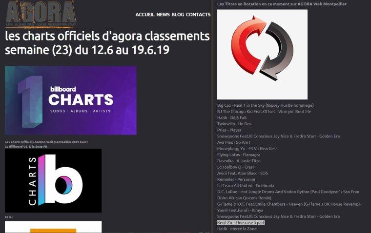 """""""Une case à part"""" toujours en rotation  sur Agora Web Montpellier"""