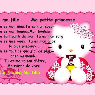 je vous aime mes princesses