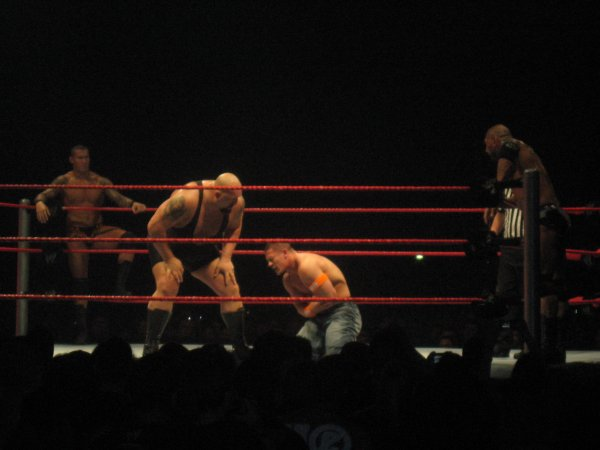 RAW WRESTLEMANIA REVENGE TOUR - STRASBOURG 14 AVRIL 2010