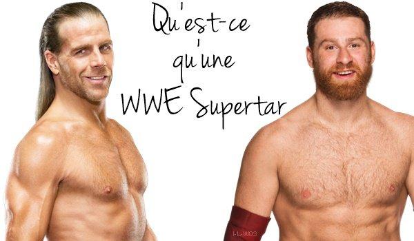 Qu'est-ce qu'une WWE Superstar / Qu'est-ce qu'une WWE Diva ?