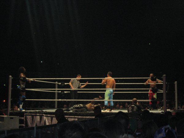 RAW WRESTLEMANIA REVENGE TOUR - PARIS 20 AVRIL 2012