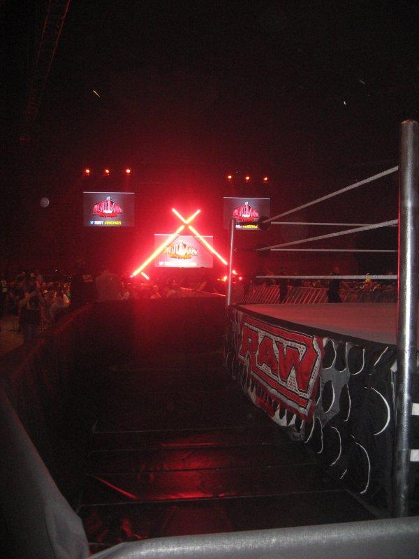 RAW WRESTLEMANIA REVENGE TOUR - PARIS 20 AVRIL 2013