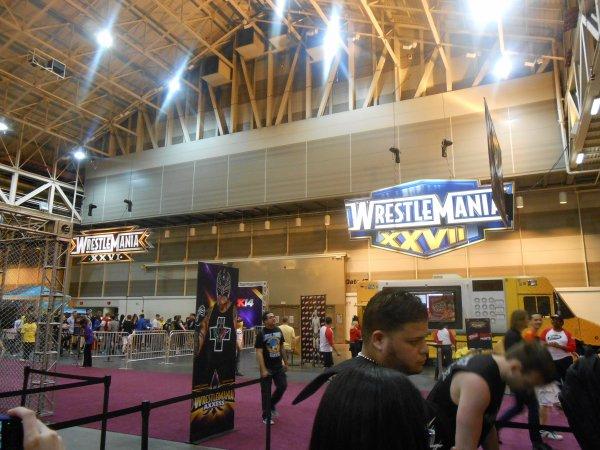 Wrestlemania Axxess Jour 1